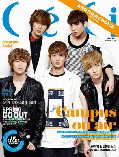 shinee 2012, shinee info terbaru, shinee keren, shinee magazine
