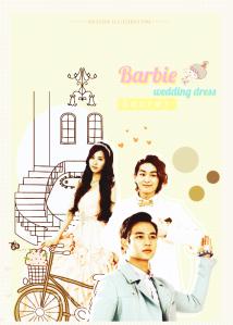 barbie wedding dress secret