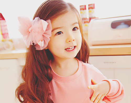 gadis kecil lucu, imut, korean child