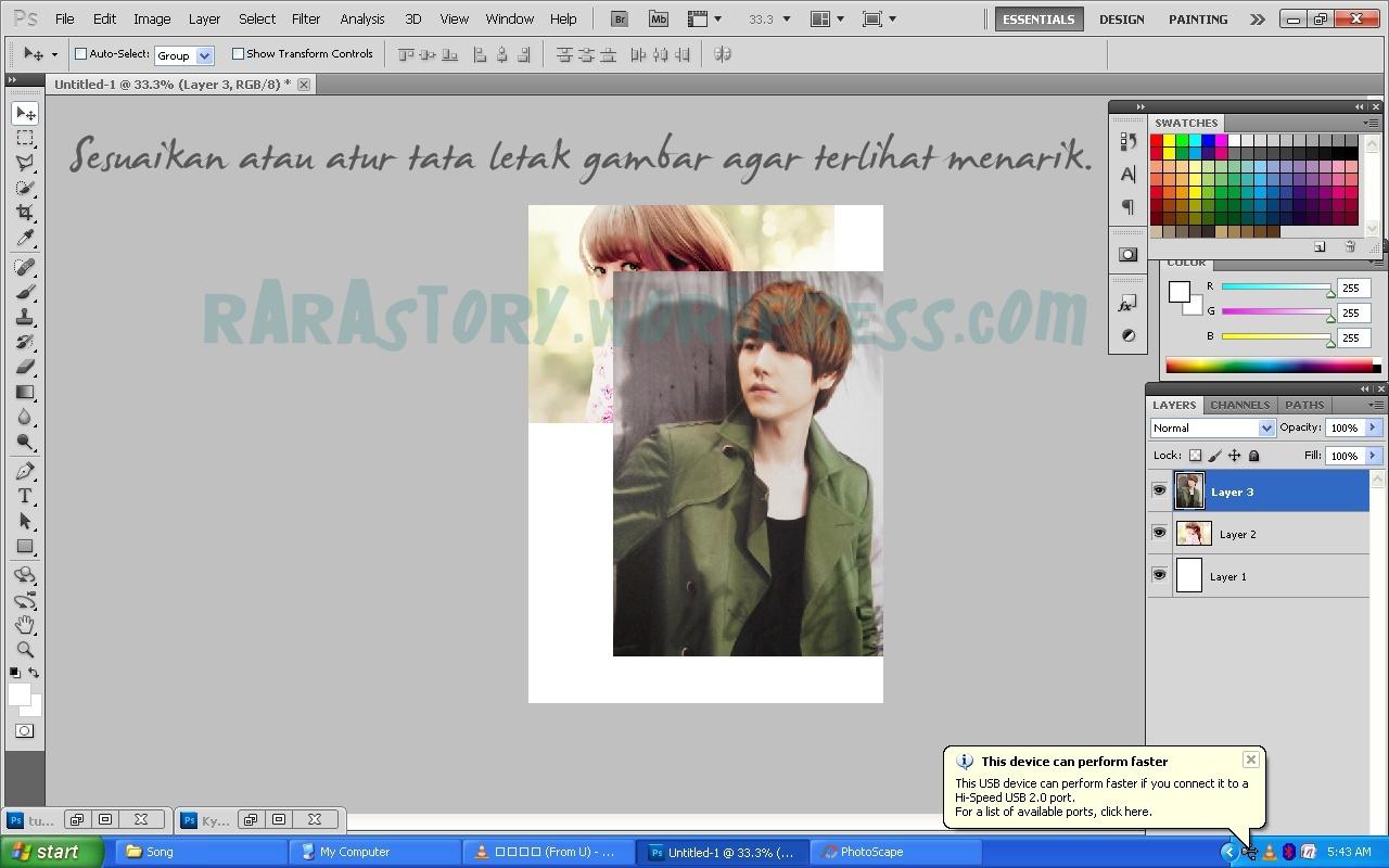 Tutorial Photoshop // Cara Membuat Cover / Poster