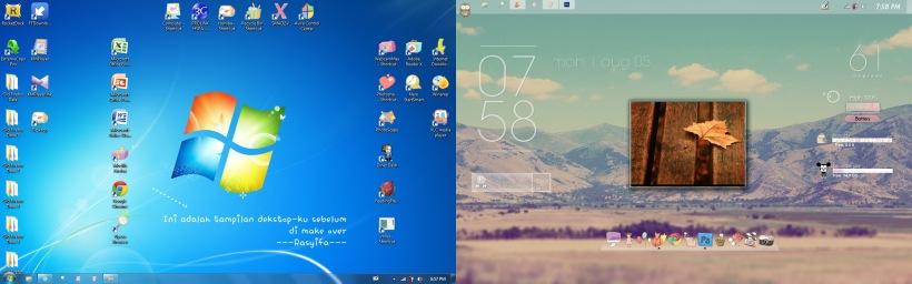 merubah tampilan dekstop windows 7