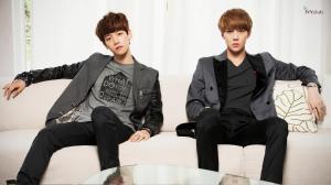 EXO Baekhyun Sehun Photoshoot